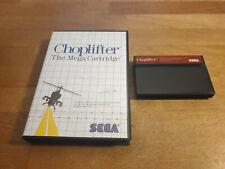 Choplifter Sega Master System OVP Boxed