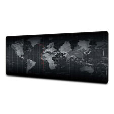Extended world map mouse pad computer keyboard mouse pad non-slip office mat