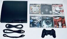 Sony PS3 320GB Slim Console Bundle 6 Games + 1 Controller PlayStation 3