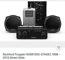 Rockford Fosgate Hd9813Sg-Stage2 Upgrade For Select 98-13 Street Glide Bikes New