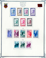 Morocco Stamps Mint Sets 1956-1974 Sets on Pages