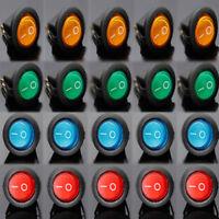 20 Stück 12V 16A Auto-Boot Fahrzeug DIY LED Wipp Kipp SPST Schalter ON-OFF