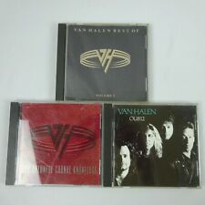 Van Halen 3CD lot Best of OU812 For Unlawful Carnal Knowledge