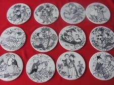 Stoneware 1960-1979 Date Range Scandinavian Art Pottery Wall Plaques
