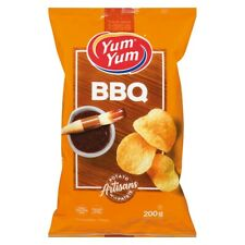 6 Bags Yum Yum BBQ Potato Chips Size 200g From Canada FRESH & DELICIOUS!