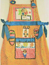 Stargaze Sewing Apron~Patti Medaris Culea~wear while crafting 2009 *Rare pattern