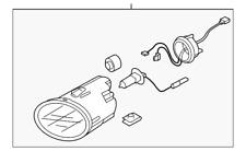 Genuine Subaru Fog Lamp Assembly 84501XA00B