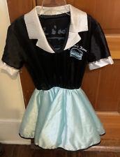 Girls 1950s Rock N Roll Halloween Costume Medium 8 to 10 Junior's Diner