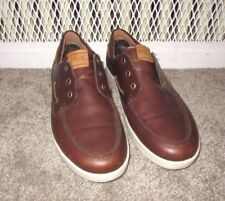 Ecco Boat Shoes Top Sider Style Men's SZ 45 Oxfords Men's 11 to 11.5 Moccasins