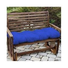 Two Outdoor Bench Swing Glider Cushions 51-Inch Size Tufted Thick Patio Porch 2
