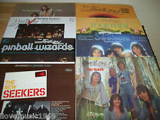 8 RARE New Seekers NEAR MINT IMPORT WHITE LABEL New Colours Come Softly Circles