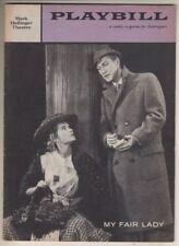 """""""My Fair Lady""""  Playbill  1958  Sally Ann Howes & Edward Mulhare"""