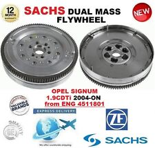 FOR OPEL SIGNUM 1.9 CDTi from ENG 4511801 2004-ON SACHS DMF DUAL MASS FLYWHEEL