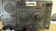 Panoramaempfänger JFE vhf Uniscan 2000A Receiver funktioniert!