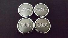"Audi A3 A4 A6 A8 TT OEM Wheel Center Cap Caps 4B0 601 170 A (4) Diameter 2 3/4"""