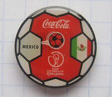 COCA-COLA /  MEXICO /FIFA WORLD CUP 2002 JAPAN-KOREA  Pin (103c)