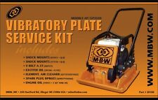 Mbw Plate Compactor Gp/Ap 3550 Service Kit w/Honda Engine