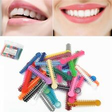 1040Pcs/1Pack Dental Ligature Ties Orthodontics Elastic Colorful Rubber Bands
