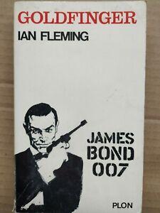 Ian Fleming - James Bond 007 : Goldfinger / Plon, 1964
