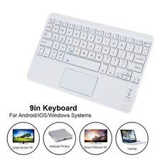 9 Zoll BT Tastatur Keyboard Touchpad für Android / iOS / Windows