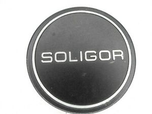 #3 Soligor 62mm Metal Slip On Front Camera Lens Cap