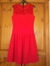 Red dress h & m 8 UK Europe 36