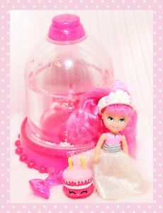 ❤️VTG 1992 Playskool Krystal Princess Crystal Doll Treats Tiara Snow Globe❤️