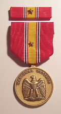 National Defense Gi Issue Military Medal Set with Star