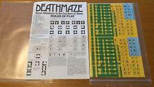 DeathMaze (Folio) - SPI 1979 - Come Nuovo - UNPUNCHED