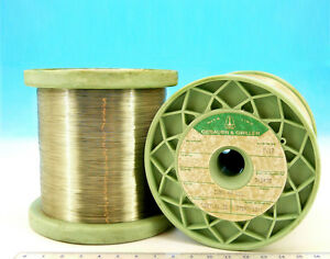 100ft 30m E ISOTAN Constantan 33AWG 0.18mm 19.3 Ωm  5.8 Ωft Resistance WIRE 0,18