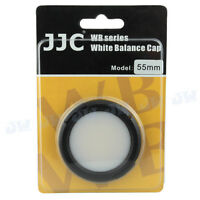 JJC White Balance Cap For 55mm Sony Nikon Canon Fujifilm Olympus Camera lens