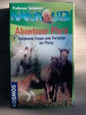 Professor Sielmanns NATURQUIZ: Abenteuer Pferd (TOP-Z) - Mit tollen Fotos!