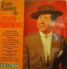 JUANITO VALDERRAMA-EL ARTE FLAMENCO DE JUANITO VALDERRAMA LP VINILO 1969 SPAIN