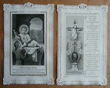 IMAGE PIEUSE-CANIVET-HOLLY CARD- CH. LETAILLE..O DIVIN ENFANT JESUS*