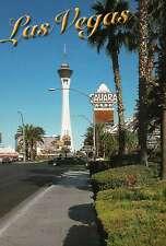 Sahara Hotel Casino, Las Vegas Nevada, Strip, Stratosphere, Limousine - Postcard