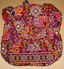 VERA BRADLEY Safari Sunset Bookbag NWT