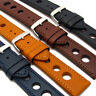 Grand Prix Leather Watch Strap Band 24mm 22mm 20mm Coloured Stitching C028