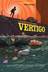 Alfred Hitchcock Vertigo Variant  by Jonathan Burton