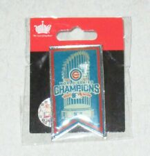 World Series Champions Chicago Cubs lapel hat collector pin 2016 – new