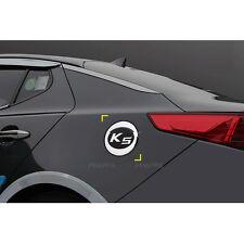 Chrome Cap Fuel Gas Cover Molding Emblem for Kia Optima 2011-2015