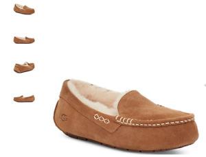 UGG Ansley Chestnut Moccasin Slipper Women's US sizes 5-12 NEW