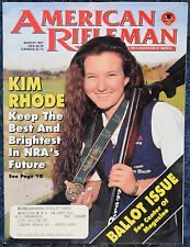 Magazine American Rifleman, MARCH 1997 !!! THOMPSON/CENTER Encore PISTOL !!!