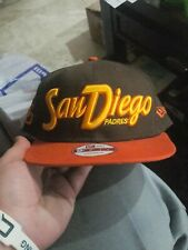 VINTAGE SAN DIEGO PADRES NEW ERA 9FIFTY SNAPBACK HAT COOPERSTOWN COLLECTION!!!