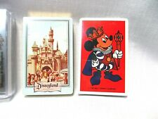 Disneyland Playing Cards. 3 Sealed Decks.