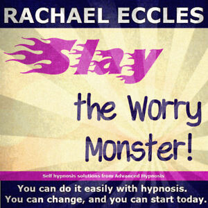 Slay the Worry Monster, Stop Worrying and Being Anxious Self Hypnosis CD