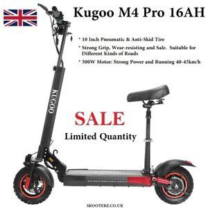 "Kugoo Kirin M4 PRO Electric Scooter 16AH 10"" 45km/h Off-Road tires 65km Range"