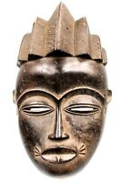 Arte Africano Arti Primo - Antico Maschera Viso Baule - Baule Mask - 28 CMS