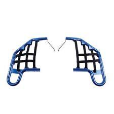 Tusk Nerf Bars Blue w/ Blk Nets YAMAHA RAPTOR 350 2004-2013 guards rack rapter