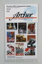 Archer 1/35 Russian Propaganda Posters WWII (17 Posters) [Printed Paper] AR35397