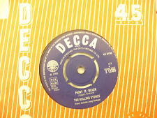 ROLLING STONES IT'S ALL OVER NOW / GOOD TIMES BAD TIMES decca...... 45rpm / rock